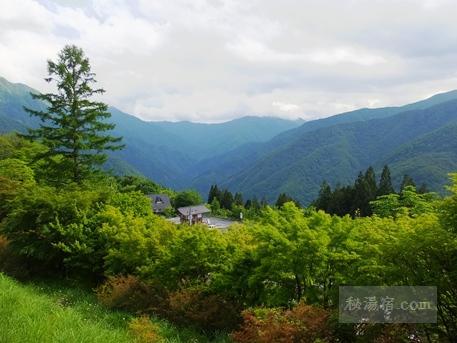 三峯神社 駐車場からの眺め