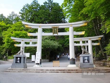 三峯神社 鳥居2