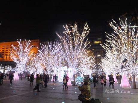 博多駅前イルミネーション1