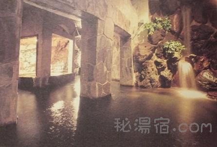 仙仁温泉 花仙庵 岩の湯 その2 お風呂編