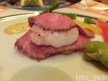 谷旅館の夕食23