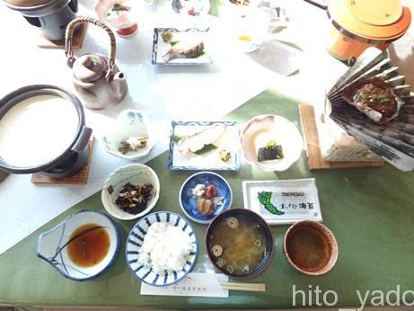中の湯温泉旅館の朝食3
