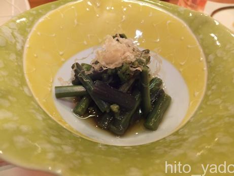谷旅館の夕食13