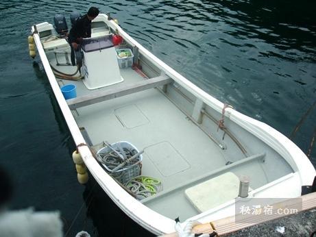 式根島ダイビング船