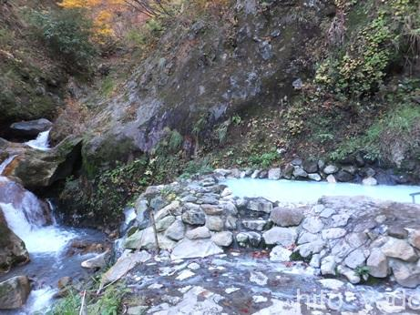 燕温泉 河原の湯48