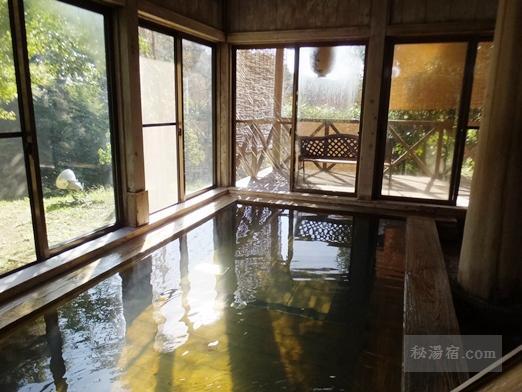 奥久慈 湯の澤鉱泉 宿泊 その3 お風呂編