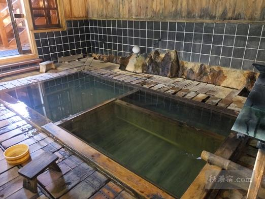 横向温泉 下の湯 滝川屋旅館 宿泊 その3 お風呂編