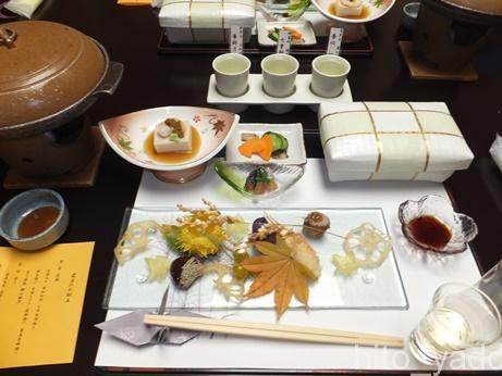 中ノ沢温泉 御宿万葉亭 食事2