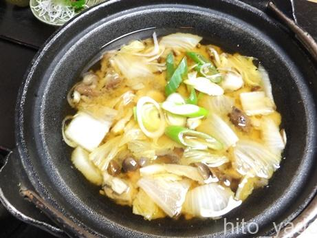 小梨の湯 笹屋 食事2