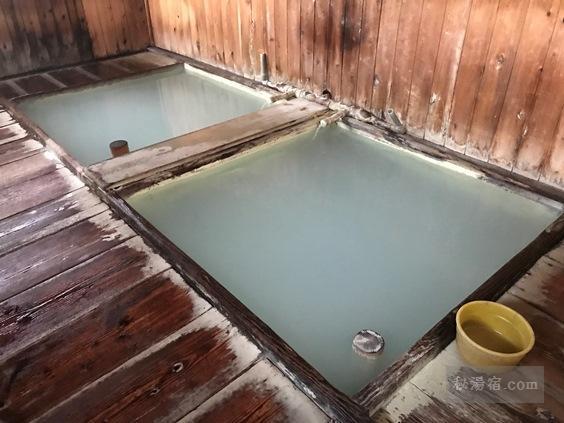 奥塩原 新湯温泉 共同浴場 寺の湯 中の湯 むじなの湯 ★★★★