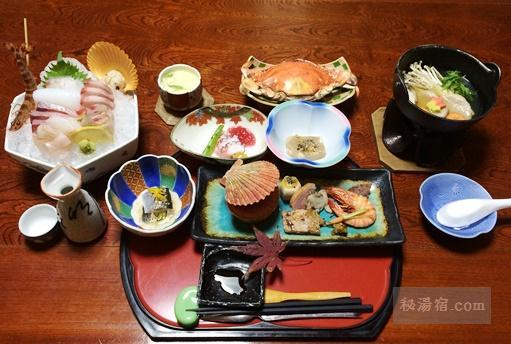 弓ヶ浜温泉湯楽亭-夕食100