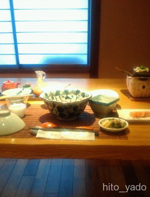 初谷温泉-食事