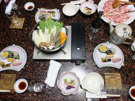 湯本館-夕食1