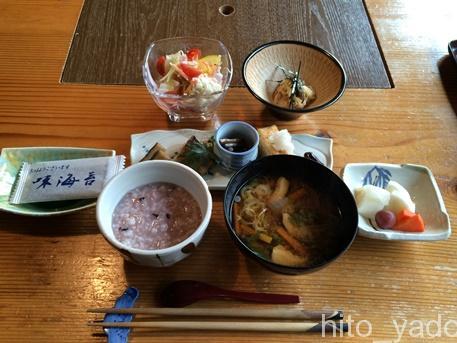 源氏の湯-朝食1