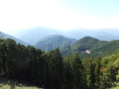 玉置神社からの景色