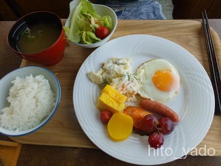 不老ふ死温泉-朝食6