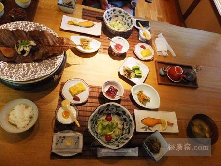 初谷温泉-朝食1