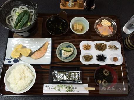 芽登温泉-朝食11