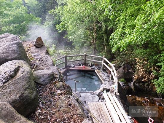 道北の混浴のある温泉