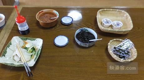 大雪高原山荘-朝食1