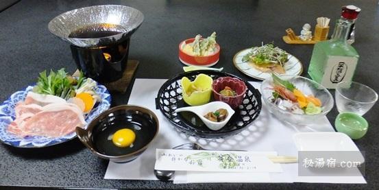 芽登温泉-夕食12