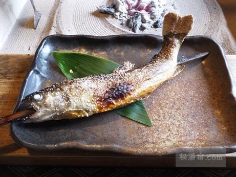 鶴の湯別館山の宿-昼食18