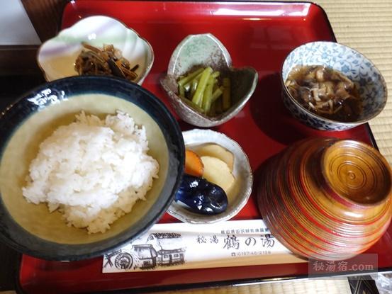 鶴の湯別館山の宿-昼食9