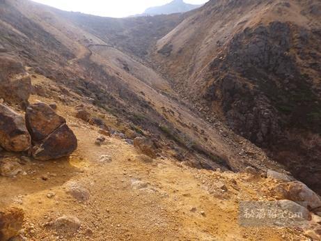 茶臼岳から三斗小屋41