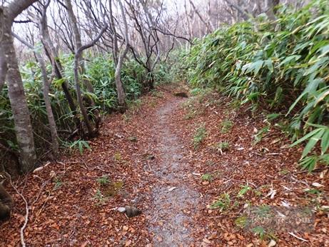 茶臼岳から三斗小屋38