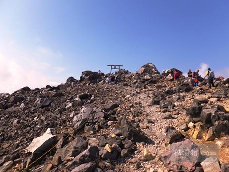 茶臼岳から三斗小屋9