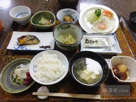 小谷温泉 山田旅館-朝食2