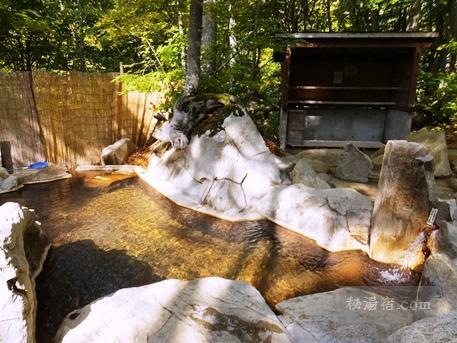 小谷温泉 奥の湯 雨飾高原露天風呂11