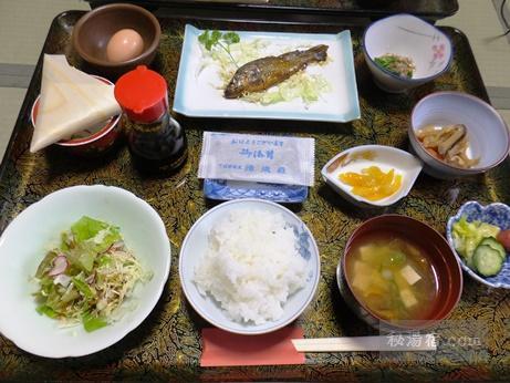 下仁田温泉 清流荘-朝食1