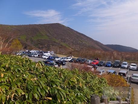 茶臼岳から三斗小屋75