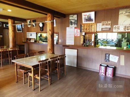 蓮華温泉ロッジ-食堂1