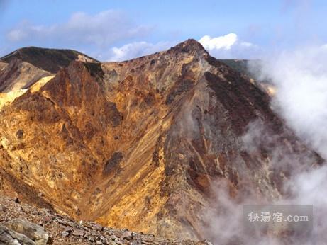 茶臼岳から三斗小屋8