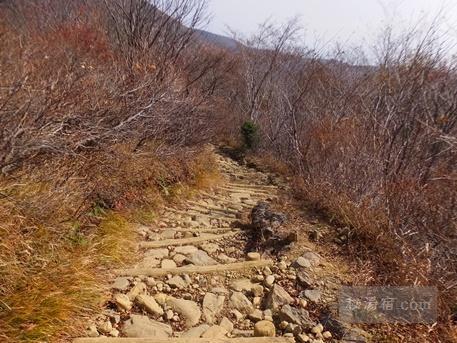 茶臼岳から三斗小屋56