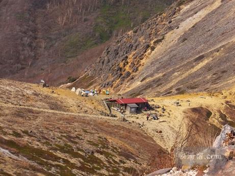 茶臼岳から三斗小屋16