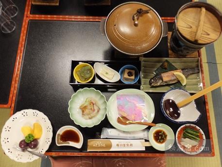尾瀬かまた宿温泉 梅田屋旅館-夕食2