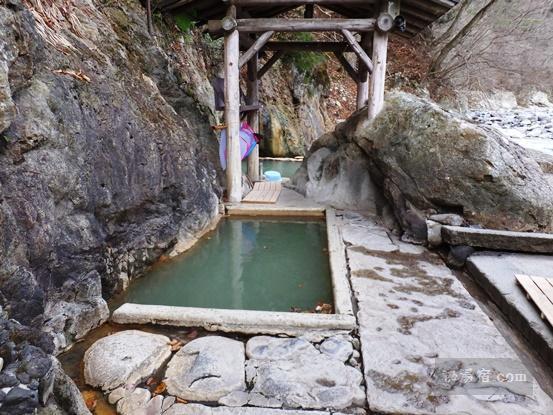 塩原温泉郷 福渡温泉 共同浴場 岩の湯11