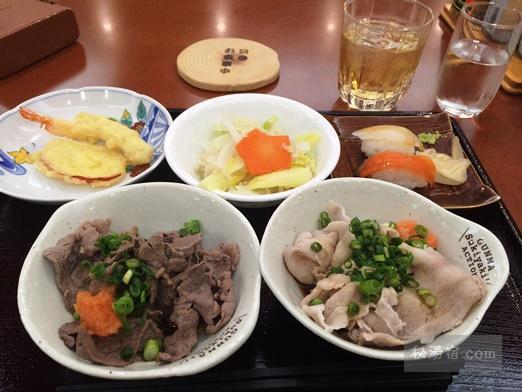 万座ホテル聚楽-夕食43