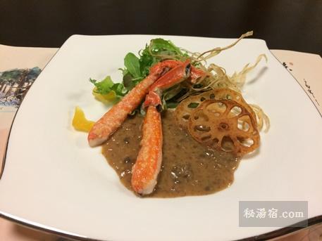 嵐渓荘-夕食40