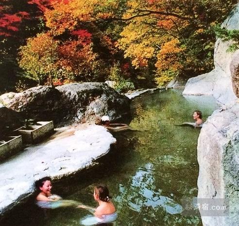 松川渓谷温泉 滝の湯 日帰り入浴 ★★★