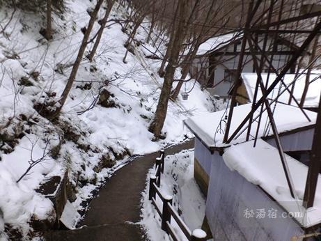 松川溪谷温泉 滝の湯11