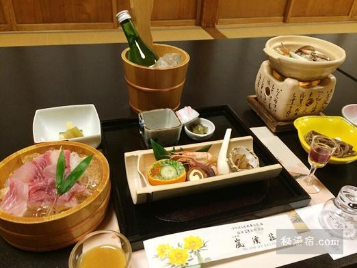 嵐渓荘-夕食34