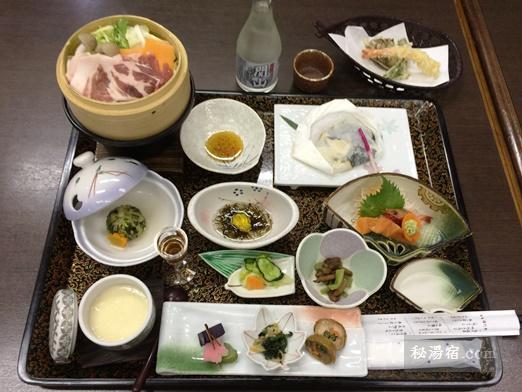 須川高原温泉2016夕食-29