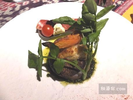 沓掛温泉 満山荘 夕食41