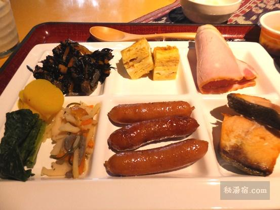 沓掛温泉 満山荘 朝食15