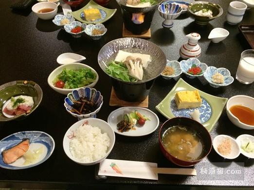 草津ホテル 朝食1