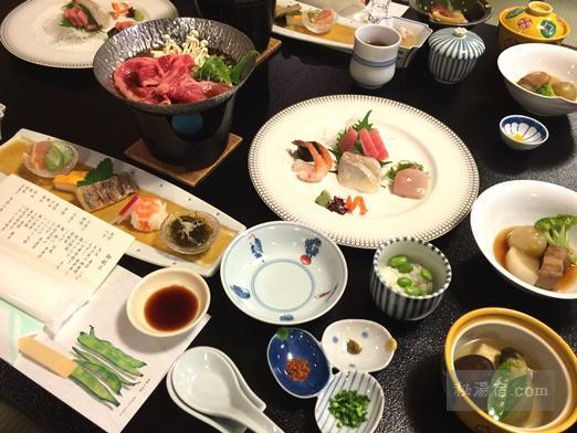 草津ホテル 夕食12